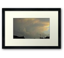 May 5 2012 Storm 27 Framed Print