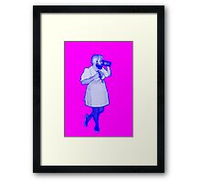 The Bear Maid, Bubblegum Variant Framed Print