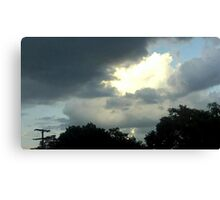 May 5 2012 Storm 42 Canvas Print