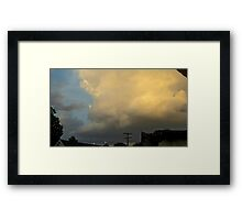 May 5 2012 Storm 55 Framed Print
