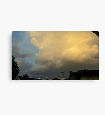 May 5 2012 Storm 55 Canvas Print