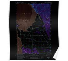 USGS Topo Map Washington State WA Bow 240180 1954 24000 Inverted Poster
