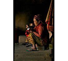 Annapurna Lady Photographic Print