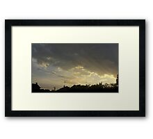 May 5 2012 Storm 72 Framed Print