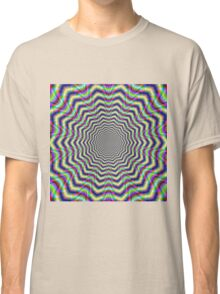 Psychedelic Web Star Classic T-Shirt