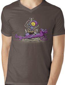 Furry Flea Bitten Fool Mens V-Neck T-Shirt