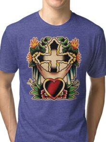 Spitshading 002 Tri-blend T-Shirt