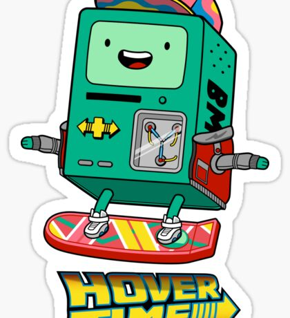 Hover Time Sticker