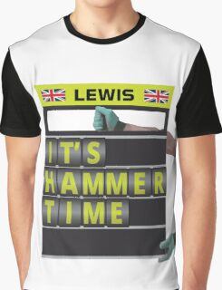 It's hammer time pit board message Graphic T-Shirt