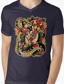 Spitshading 005 Mens V-Neck T-Shirt