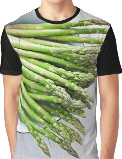 Green asparagus Graphic T-Shirt