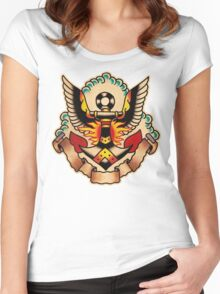 Spitshading 008 Women's Fitted Scoop T-Shirt