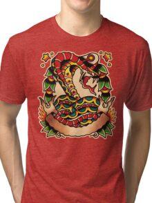 Spitshading 011 Tri-blend T-Shirt