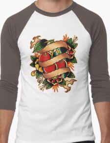 Spitshading 009 Men's Baseball ¾ T-Shirt
