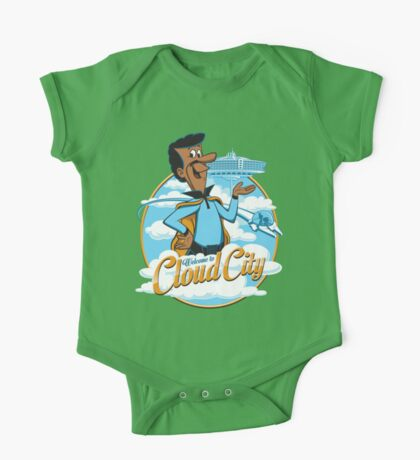 Welcome to Cloud City One Piece - Short Sleeve