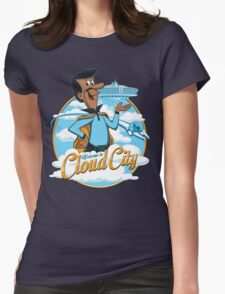 Welcome to Cloud City Womens Fitted T-Shirt