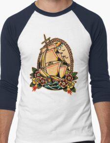 Spitshading 013 Men's Baseball ¾ T-Shirt