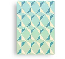 Triangles and Squares X Canvas Print