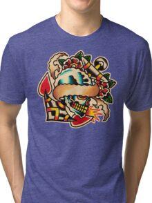 Spitshading 017 Tri-blend T-Shirt