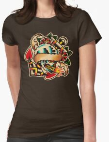 Spitshading 017 Womens Fitted T-Shirt