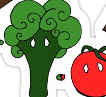 Vegetarianism is Murder Sticker