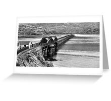 Railway Bridge Greeting Card