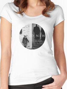 Brand New Circle Design Women's Fitted Scoop T-Shirt