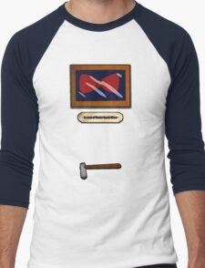 In case of Doctor, break Glass Men's Baseball ¾ T-Shirt