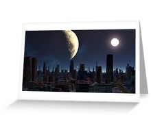 Miners Moon Greeting Card