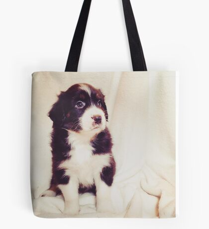 Australian Shepherd Puppy Dog  Tote Bag