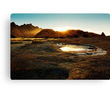 Namibia Dawn Canvas Print