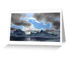 Storm Clouds Passing Greeting Card