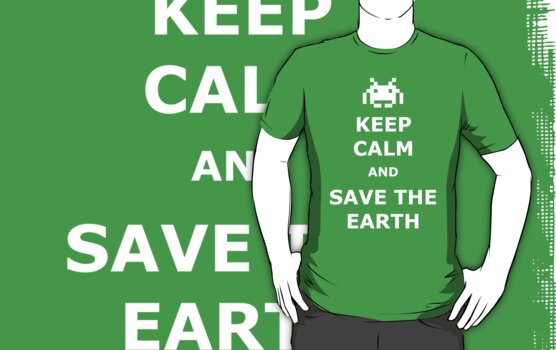 Keep calm and save the Earth by karlangas