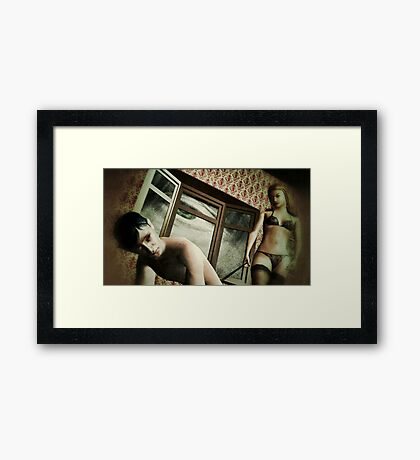Manipulation Framed Print