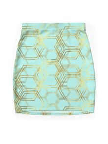 Hexagold Mini Skirt