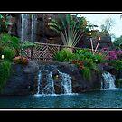 Hawaiian Waterfall by RAINY CHASTINE