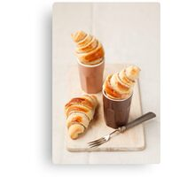 Small croissants Metal Print