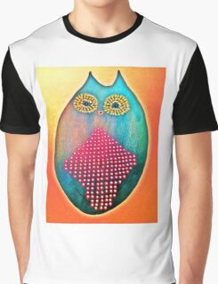 Psychedelic Owl  Graphic T-Shirt