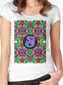 String Cheese Incident - Trippy Pattern 3 Women's Fitted Scoop T-Shirt