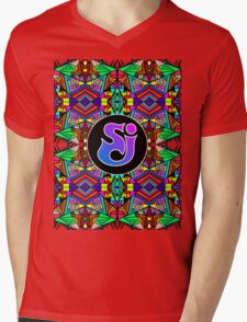 String Cheese Incident - Trippy Pattern 3 Mens V-Neck T-Shirt
