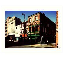Manchester, Northern Quarter Art Print