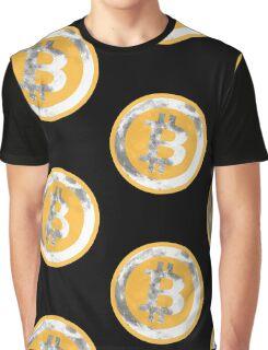 Bitcoin To Da Moon Graphic T-Shirt