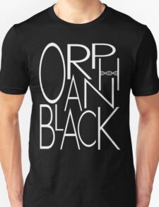 Orphan Black - Letters (White) T-Shirt