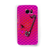 Sookie Skull Safety Pin Purple and Pink Samsung Galaxy Case/Skin