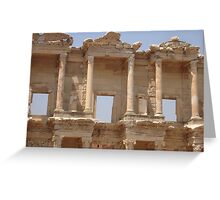 Ephesus - Library Facade Greeting Card