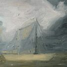 Stormy Sailboat by byler2