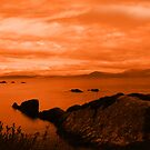 red coastal kerry view by morrbyte