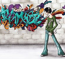Graffiti by ninamarie