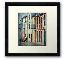 Streets of Lugo Framed Print
