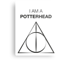 I am a Potterhead Metal Print